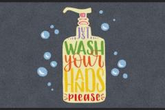 Wash your hands Matte