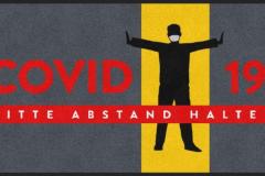 Abstandmatte Covid 19