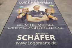 HCD Gröbenzell Handballmatte